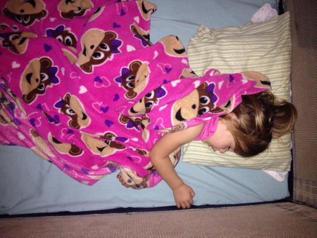 mila-sleeping